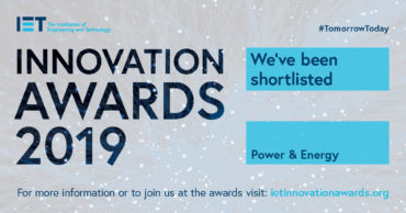 Oxford nanoSystems  – shortlisted for the Institution of Engineering and Technology (IET) Awards